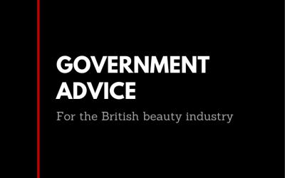 Guidance from Government for the British Beauty Industry