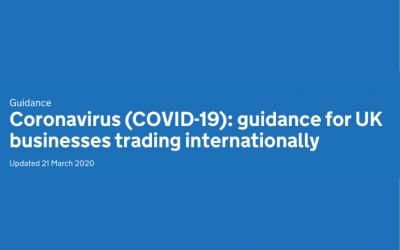 Department for International Trade and UK Export Finance guidance for UK businesses trading internationally