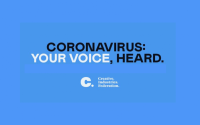 What Creative Industries Federation are doing to support you through the coronavirus outbreak