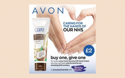 Avon x Beauty Banks Launch #HelpingHands