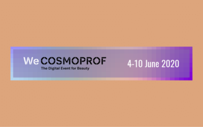 WeCosmoprof 4 – 10 June 2020