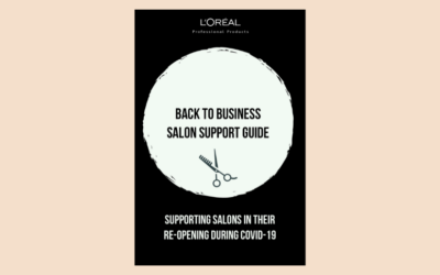 L'Oreal Back to Business Salon Support Guidelines