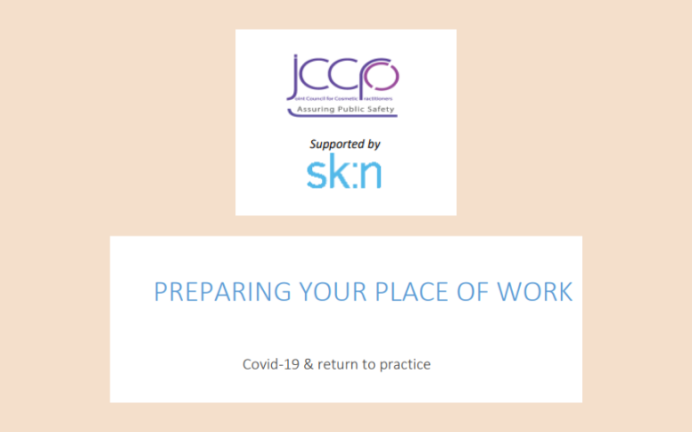 JCCP issues Preparing Your Place of Work guidance