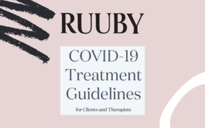 RUUBY release their COVID-19 Treatment Guidelines for Clients and Therapists