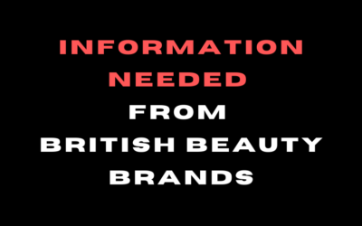 Are you a British beauty brand trading in the U.S?