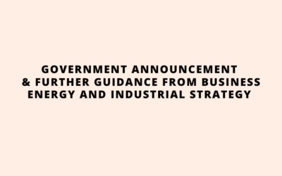 Government Announcement July 9th 2020