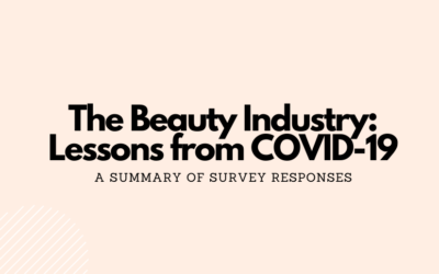 The Beauty Industry: Lessons from COVID-19