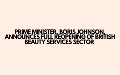 ALL beauty services to reopen August 1st 2020