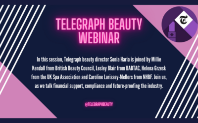Telegraph Beauty Webinar on The Beauty Industry Today
