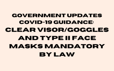 COVID-19 PPE Requirements Update