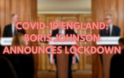 COVID-19 England: PM Announces National Lockdown 31.10.20