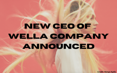 New CEO of Wella Company Appointed
