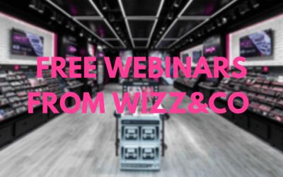 Free Webinars with Wizz&Co