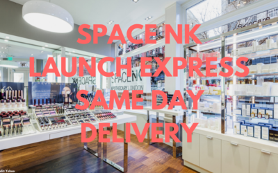 Space NK Launch Same Day Delivery