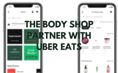 The Body Shop Partner With Uber Eats