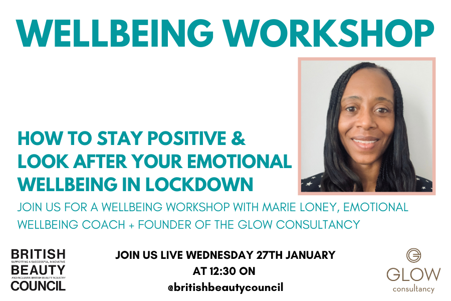 Instagram Live: Wellbeing Workshop with Marie Loney