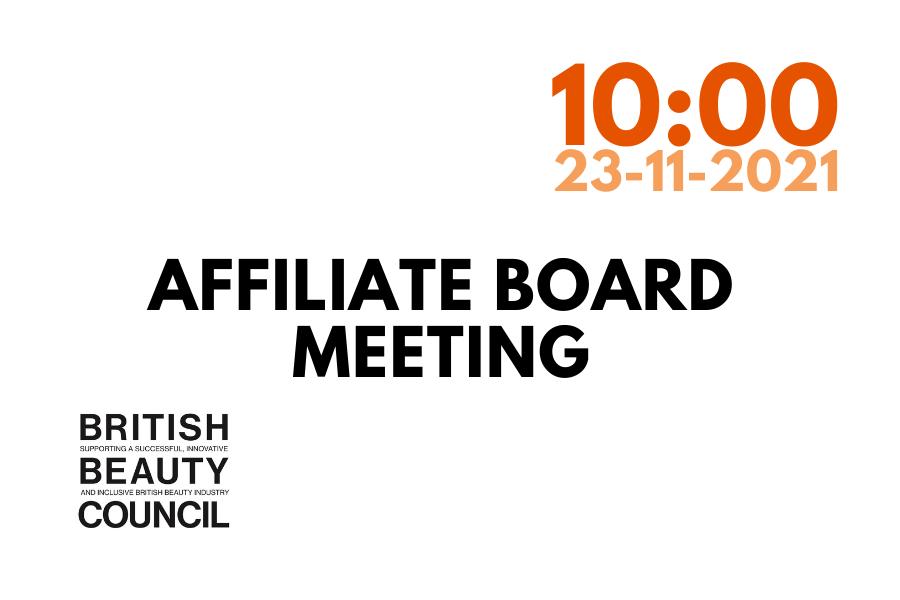 Affiliate Board Meeting