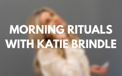 Instagram Live Morning Rituals with Katie Brindle