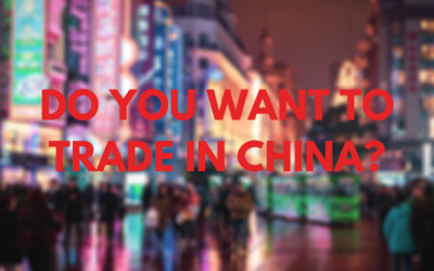Do you want to trade in China?