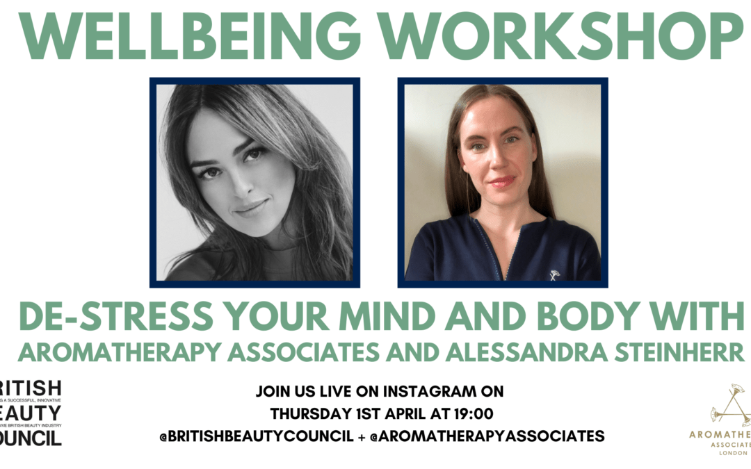 Instagram Live: Wellbeing Workshop with Alessandra Steinherr and Aromatherapy Associates