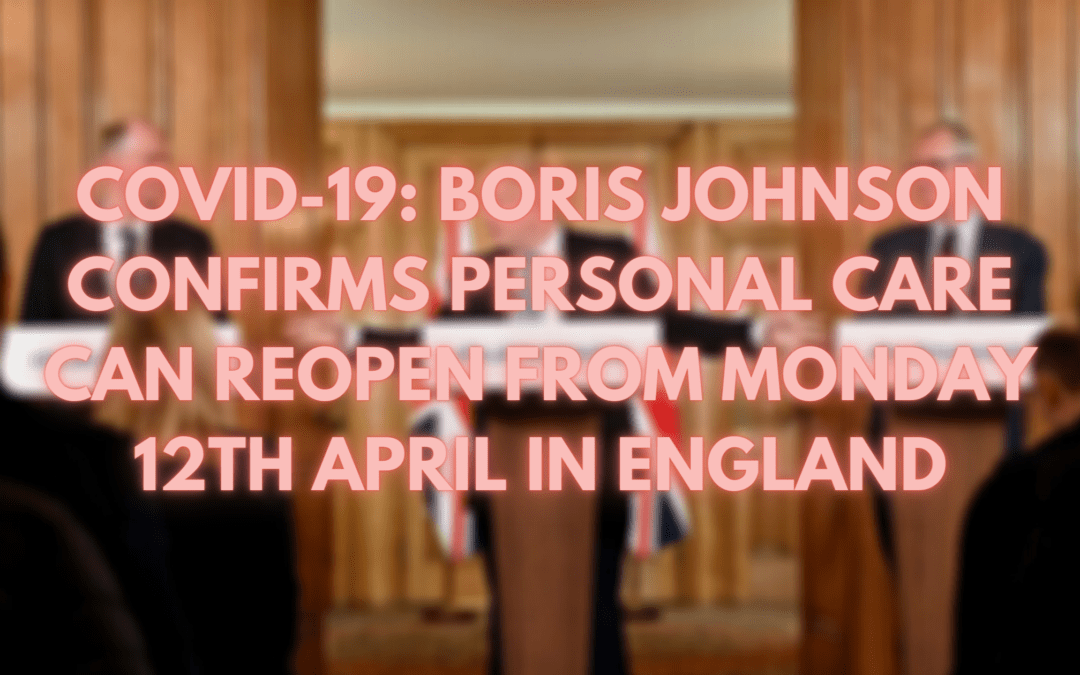 COVID-19: Boris Johnson Announces Next Steps in England's Roadmap