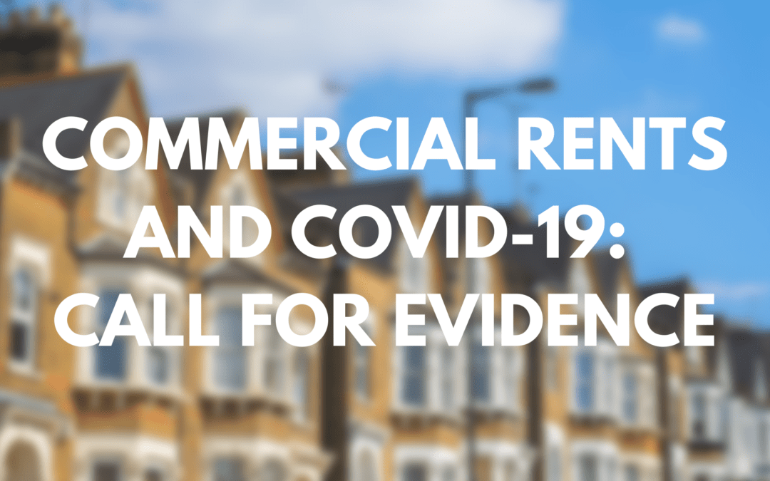 Commercial rents and COVID-19: call for evidence