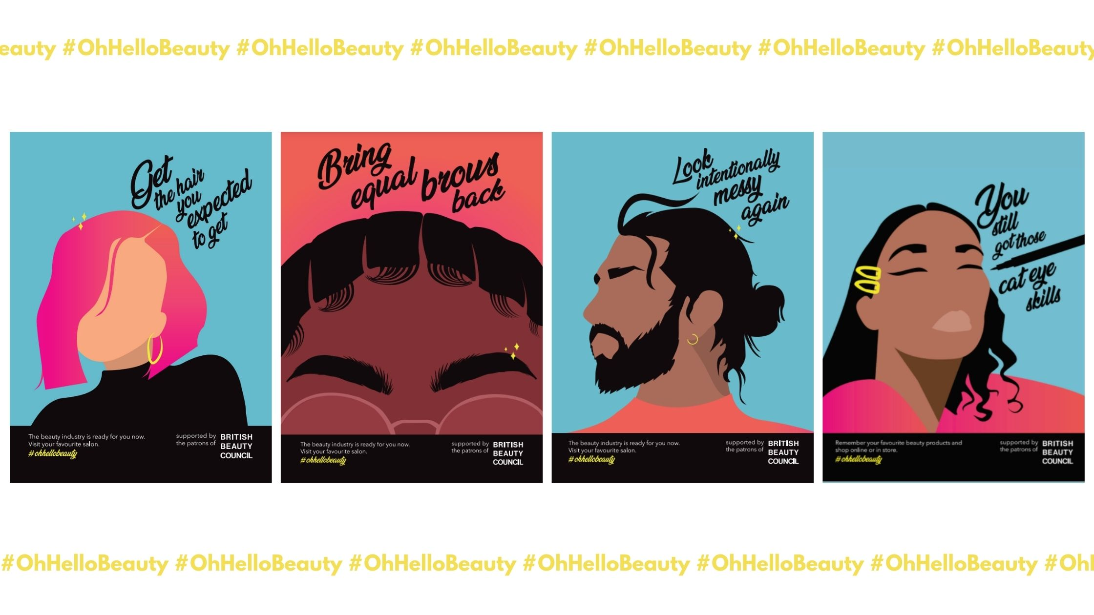 British Beauty Council launches Oh Hello Beauty Campaign - The British  Beauty Council