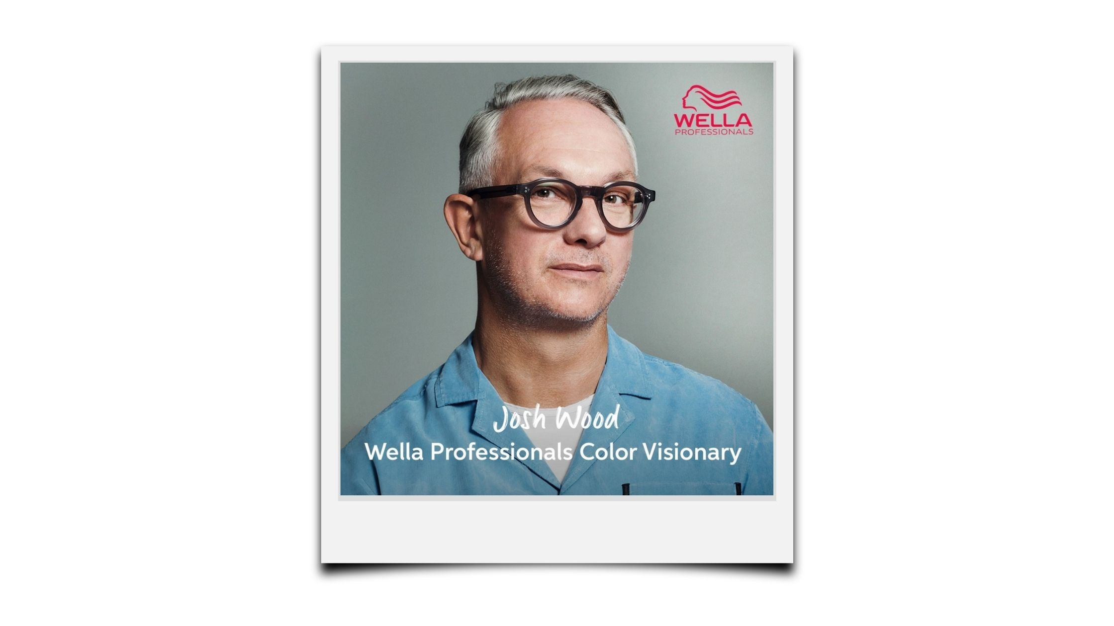 Josh Wood Appointed  Wella Professionals Colour Visionary